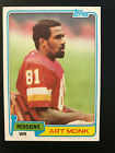 Art Monk Cards, Rookie Card and Autographed Memorabilia Guide 10