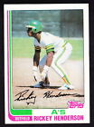 Rickey Henderson Cards, Rookie Card and Autographed Memorabilia Guide 16