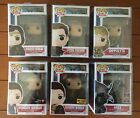 Funko Pop! Lot of 6 - Wonder Woman 2017 some exclusives NIB with protectors