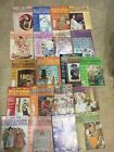Vintage Olde Time Needlework Patterns and Designs Lot of 20 Magazines 1973 80