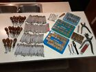 Large Lot 269 pcsVintage Original Craftool Leather Stamp Tools Punches tooled