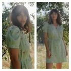 Christy Dawn Alyssa Dress in Pear spray mini size small New with tags