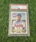 Ronald Acuna Jr. Signed Topps Heritage Rookie 2018 #580 PSA 10