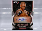2015 Topps UFC Chronicles Trading Cards - Review Added 53