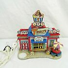 Lemax Christmas Carnival Twirly's Soft Serve Booth Kiosk 2007 Rare Missing Cone