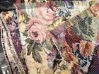 Floral Brocade Jacquard Fabric Material Decorator Fabric 2sided 4 + yards 99 x54