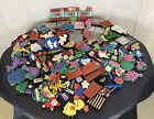 Lot 100+ Assorted Stamps Flowers Leaves Butterfly Animals Foam Chunky Craft