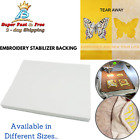 Stabilizer Backing Tear Away For Machine Embroidery Hand Sewing Quilt Leather