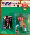 1995 Kenner Starting Lineup Jerry Rice San Francisco 49ers Free Shipping