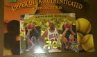 1998 Upper Deck Authenticated Chicago Bulls 5 card set with package