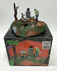 Lemax Spooky Town Igor the Grave Digger Miniature Village 2014 Retired
