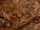 10 7 8Y KRAVET 23124 ROSEWOOD ESPRESSO DAMASK CHENILLE UPHOLSTERY FABRIC