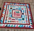 Decorative Vintage Country Quilt Wall Hanging Baby Bed Quilt48x48