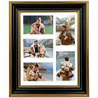 Collage Picture Frame with White Mat for 4x6 Photos Artworks Sawtooth Ha