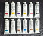 Winsor and Newton artists oil paint series 12 x 37ml tubes series 2 and 1