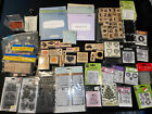 Large Lot 300+ Pc NEW Solid  Clear Cling Rubber Stamps Blocks Close To My Heart
