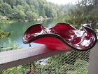 HUGE 205 INCH HAND BLOWN ART GLASS BOWL SIGNED NUMBERED DATED