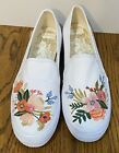 Rifle Paper Co for Keds White Sneakers Size 95 EUC LOOK