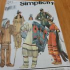 Simplicity Pattern 8281 Native American Indian Costumes Adult XS XL Uncut
