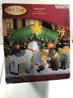 6 Holiday Living Gemmy Airblown Inflatable Nativity Scene Christmas