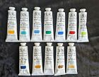 Winsor and Newton artists oil paint series 12 x 37ml tubes Series 4 and 1