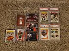 Walter Payton PSA graded lot, Patch Cards and Cello Pack!