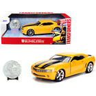 2006 Chevrolet Camaro Concept Yellow Bumblebee with Robot on Chassis and Coll