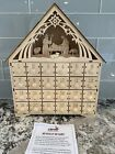 Clever Creations Wooden Christmas Countdown Advent Calendar Nativity