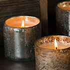 Himalayan Bubbled Glass Tumbler Scented Jar Candle