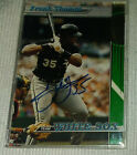 Frank Thomas Rookie Cards and Autograph Memorabilia Guide 49