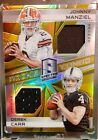 Johnny Manziel Signs Exclusive Autographed Memorabilia Deal with Panini Authentic 10