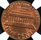 1983 DOUBLED DIE REVERSE MEMORIAL CENT NGC MS 64 RED BROWN EXCEPTIONAL STRIKE IN