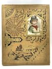 Antique Scrapbook Victorian Trade Cards McLaughlin Coffee Stoves Calling Cards