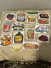 Vintage 80s Mello Smello Scratch and Sniff Sticker Lot Great Scent