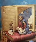 VINTAGE GARE CERAMIC MOLD 898  899 NATIVITY BOOK AND FIGURES 2 MOLDS