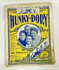 Vintage sheet music Hunky Dory Characteristic Cake Walk March  Two Step 1900