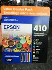 NEW EPSON 410 VALUE COMBO PACK 5 INK CARTRIDGES T4101 5 SVH FREE SHIPPING