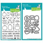 Lawn Fawn Cling Clear Stamps and Dies Pick of the Patch Halloween Set LF1754