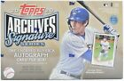 2020 Topps Archives Signature Series Baseball Box Active Player 1 Auto Free Ship