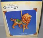 #5303 NRFB Hallmark 2004 Majestic Lion Carousel Ride Ornament 1st In Series