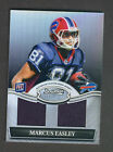Marcus Easley 2010 Bowman Sterling Dual Jersey RC 50