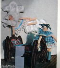 Vtg 80s Elinor Peace Bailey doll craft pattern  her 4 poster bed