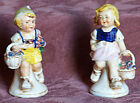 Antique porcelain Tirol boy and girl figurines - Made in Germany