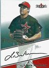 LANCE BERKMAN 2000 FLEER FRESH INK CERTIFIED AUTOGRAPH - BV$40.00