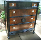 Gorgeous 1920's antique dresser vintage chest of drawers......