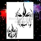 Torch Woman set on 12x9 Airbrush Stencil