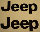 2 Jeep Decals FREE SHIPPING