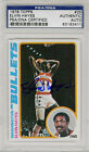 Elvin Hayes SIGNED 1978 Topps Card Washington Bullets PSA DNA AUTOGRAPHED