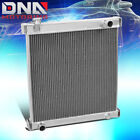 DUAL CORE FULL ALUMINUM RACING COOLING RADIATOR PERFORMANCE JEEP WRANGLER YJ TJ