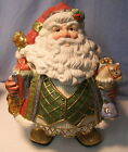 * FITZ & FLOYD * COOKIE JAR * ST NICK * NIB * these are Expensive!! * * W@W